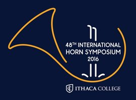 International Horn Symposium 2016 logo