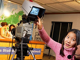 Introducing junior high school students to media production