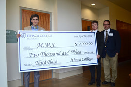 Irondequoit High School in Rochester, N.Y., took third place and a $2,000 cash prize.