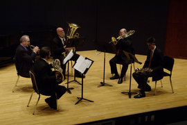 Ithaca Brass (photo:  Andrew Gillis)