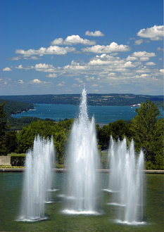 Ithaca College Fountains