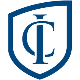 "Ithaca College ""IC shield"" logo."