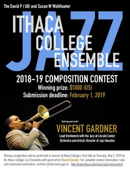 Composition Contest - Jazz Ensemble - School of Music - Ithaca College