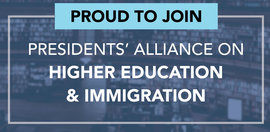 Ithaca College President Shirley M. Collado joins immigration alliance.