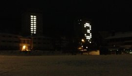 Ithaca College Towers Light Up the New Year