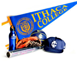 Ithaca College athletic equipment