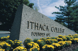 Ithaca College entrance