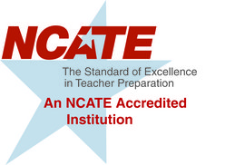 Ithaca College has received accreditation through the National Council for Accreditation of Teacher Education (NCATE).