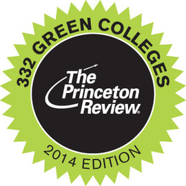 "Ithaca College is included in ""The Princeton Review's Guide to 332 Green Colleges"" for the fifth straight year."