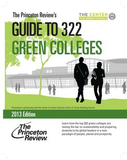 "Ithaca College is included in the ""Guide to 322 Green Colleges"""