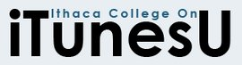Ithaca College on iTunes U logo