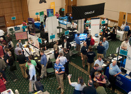 Ithaca College's annual Ed Tech Day is the largest multi-platform, multi-vendor technology show for higher education in the upstate New York area.