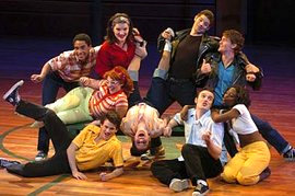 "Ithaca College's production of ""Grease"""