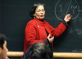 Ithaca professor of politics and program director Asma Barlas