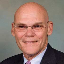 James Carville is the 15th lecturer in the Park Distinguished Visitor Series