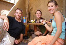 James Obarowski '05 with Peace Corps colleagues in Burkina Faso. Photo courtesy of James.