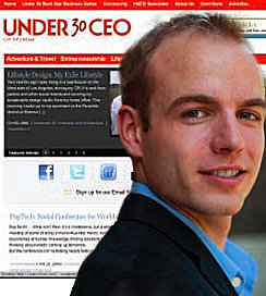 Jared O'Toole '08, cofounder of Under30CEO