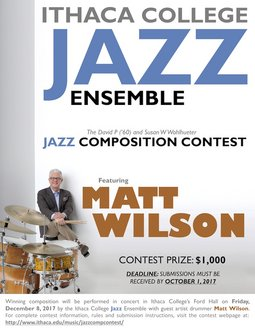 Jazz Composition Contest Poster