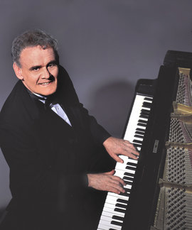 Jazz pianist Terry Waldo