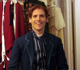 Jerad Bortz as Fiyero in
