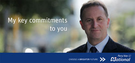 John Key Poster, National Party Web site, 2008