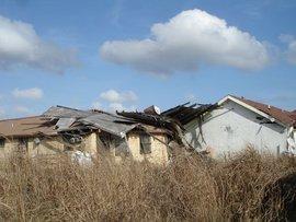 Katrina-ravaged home