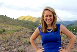 Kelsey Anderson '13 in Idaho