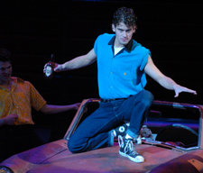Kevin in the 2005 IC production of Grease