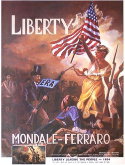 Kip Overton, ''Liberty Leading the People,'' Montana Citizens for Liberty, Inc., 1984