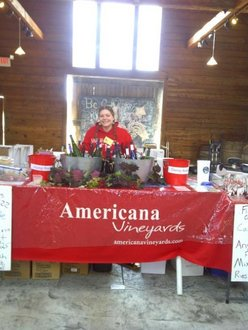 Kirsten Ness at Americana Vineyards