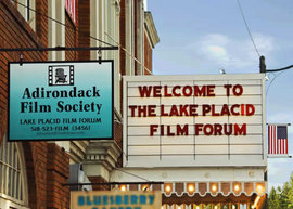 Lake Placid Film Forum Marquee