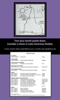 Latin American Flyer, Fall 2013 Courses