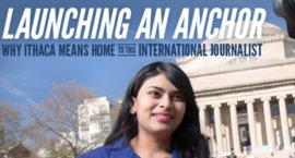 Launching an Anchor: Why Ithaca Means Home To This International Journalist