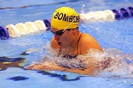 Lauren Botterbusch '10 was named Empire 8 Swimmer of the Year for 2008–09. Photo: Tim McKinney