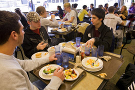 Lunch at the Campus Center