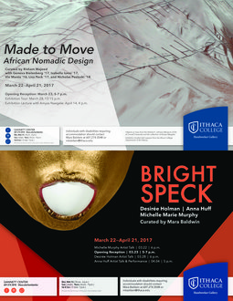 Made to Move & Bright Speck posters