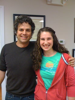 Mark Ruffalo and Me