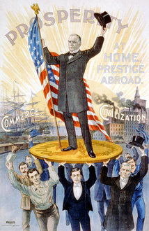 McKinley Campaign Poster (1896/1900) (Library of Congress Reproduction No. LC-USZC2-201)