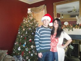 Me and my sister on Christmas Day