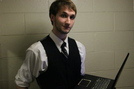 Me with my (anti-Mac) Alienware PC