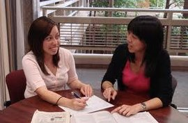 Meeting with a Study Abroad Adviser