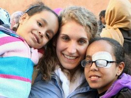 Megan and her homestay family