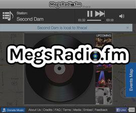 MegsRadio web view