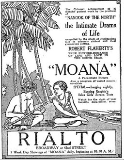 Moana (1926), directed by Robert Flaherty