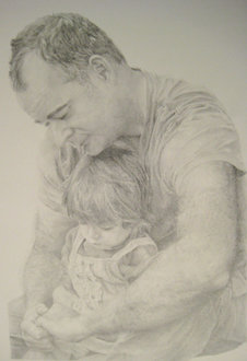 """Moment #8,"" 2008; graphite on paper, 14"" x 20"""