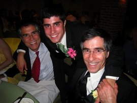 My father (right), My Uncle (left), and I