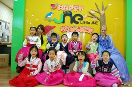 My students in Korea