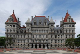 NY State Capitol building, Albany