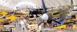 National Air and Space Museum. Photo courtesy of The Smithsonian Institution, National Air and Space Museum
