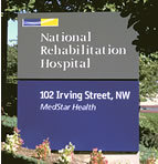 National Rehabilitation Hospital Sign